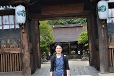 日比野様多田神社にて
